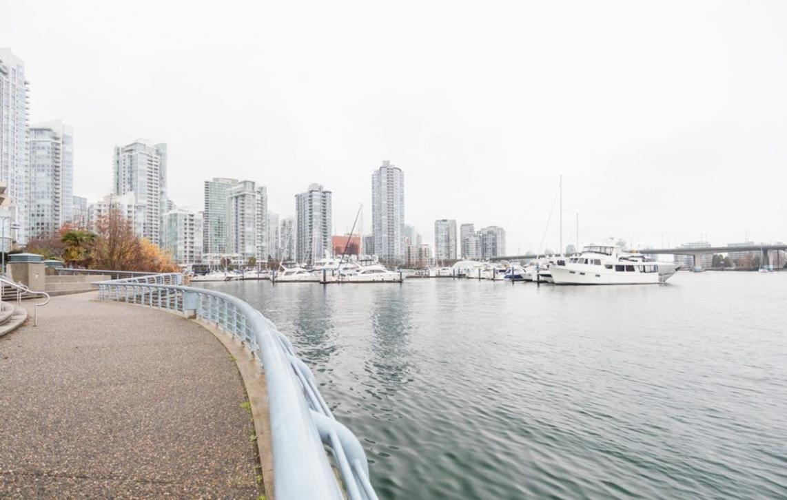 705 - 1288 Marinaside, Yaletown, Vancouver West