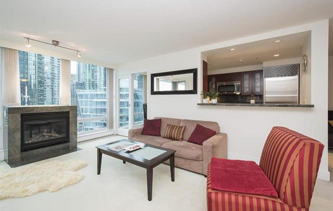 1203 - 590 Nicola, Coal Harbour Waterfront, Vancouver West