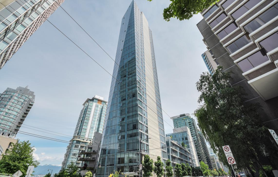 2302 - 1499 W Pender Street, Coal Harbour, Vancouver West
