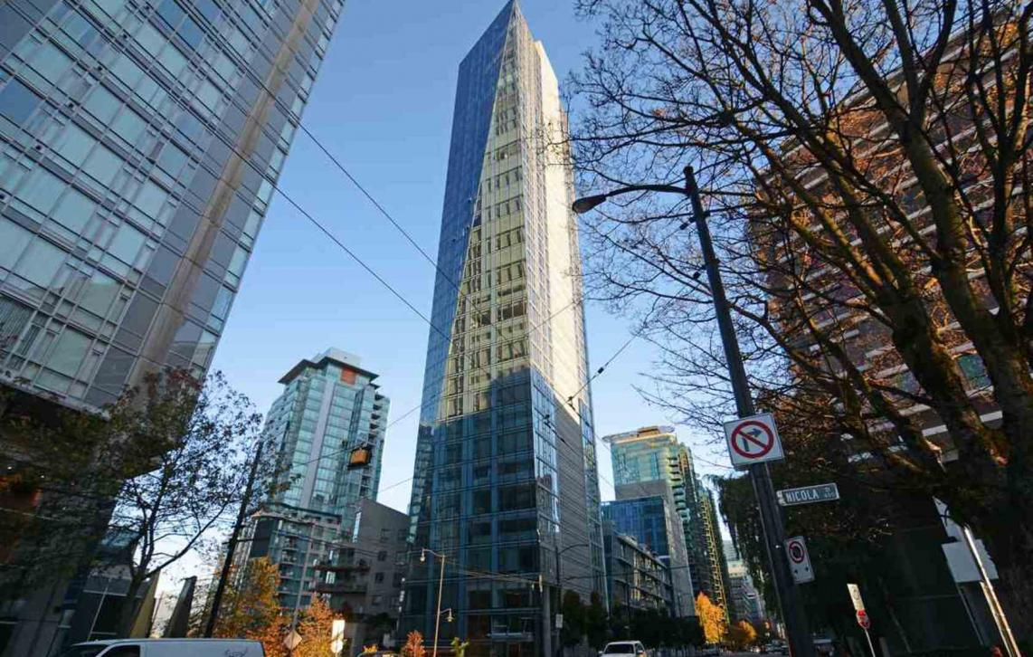 1702 - 1499 W Pender Street, Coal Harbour, Vancouver West