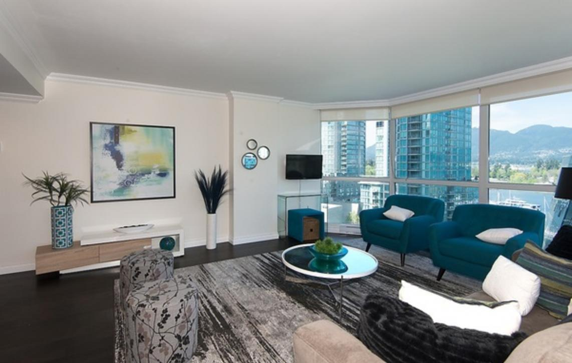 703 - 1415 W Georgia Street, Coal Harbour, Vancouver West