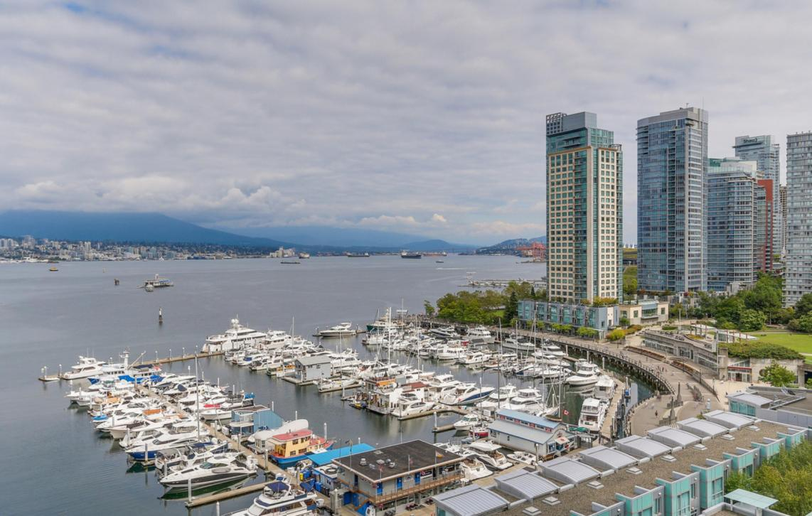 1402 - 535 Nicola Street, Coal Harbour Waterfront (Coal Harbour), Vancouver West